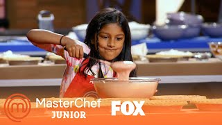 A Race Against The Clock To Create The Best Pies Possible | Season 5 Ep. 7 | MASTERCHEF JUNIOR