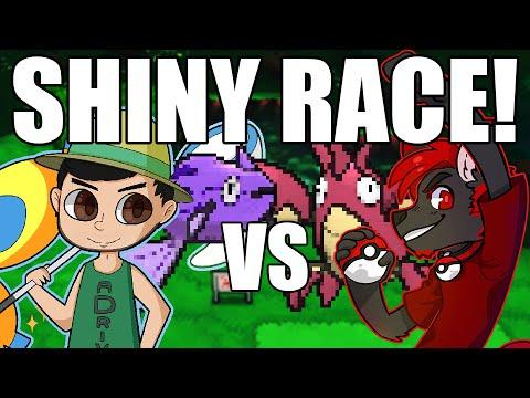 Shiny Hunt VS aDrive! Pokemon Shiny Hunting Race!