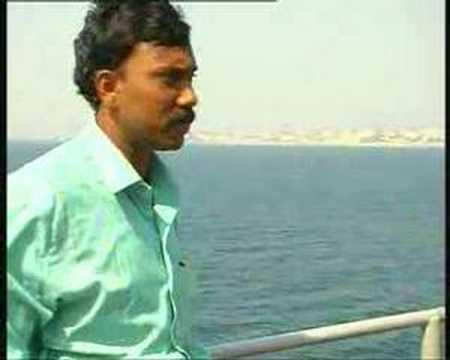 I am at sea