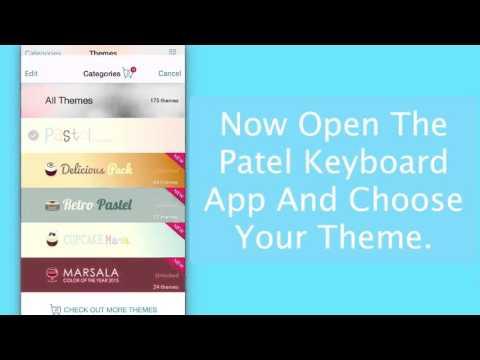 Change Keyboard Theme On iOS *NO JAILBREAK*