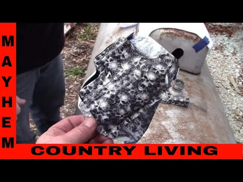 How to do Hydro-graphic dipping/painting. Part 3 of 3