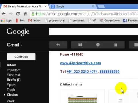 How to download all attachments in gmail