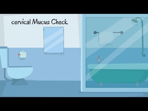 Cervical Mucus check | How to Check Cervical Mucus for Pregnancy