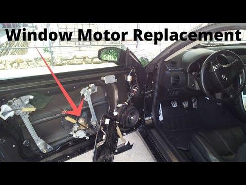 Infiniti G35 - Window Motor Replacement