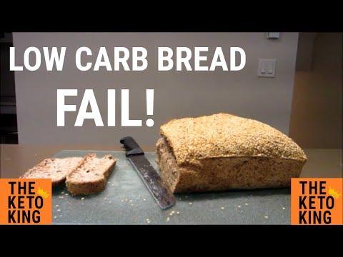 Low Carb Bread FAIL! | Keto Bread FAIL! | Blooper | Keto Fail