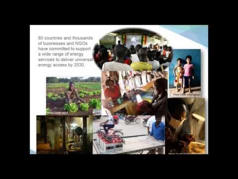 Building Energy Access Markets: A Value Chain Analysis of Key Energy Market Systems