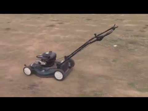 Swapping a Briggs onto a Craftsman Self-Propelled