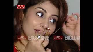 Karwa Chauth Celebration With Tv Actor Ankita And Mayank Entertainment News