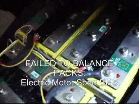 Diagnosis of Thundersky Winston LIFEPO4 battery pack and BMS