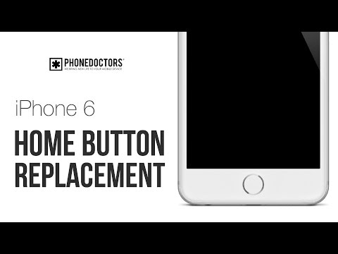 How to: iPhone 6 Home Button Repair Video