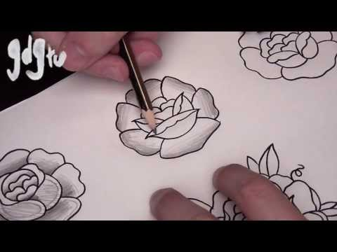 Where to Shade / Shading Techniques for Tattoo Designs