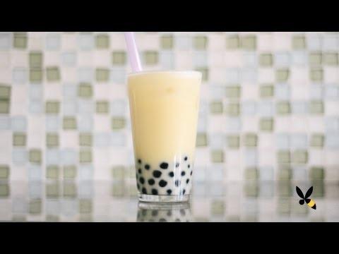 Bubble Milk Tea with Pearls Recipe - HoneysuckleCatering