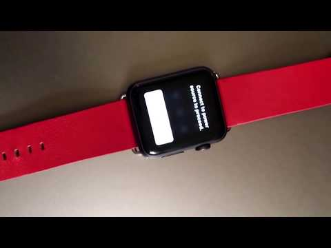 How to remove passcode off I watch