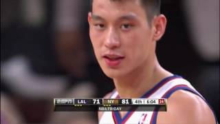 Jeremy Lin 38pts FULL Highlights vs Kobe Bryant the Lakers (2012) - 5 years ago today!