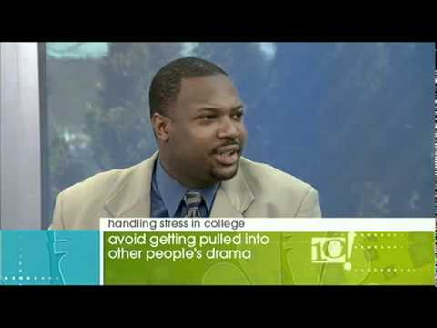 George James - How to handle stress in College - 10! Show NBC