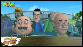 Motu Patlu New Episode | Hindi Cartoons For Kids | Motu Ki Race | Wow Kidz