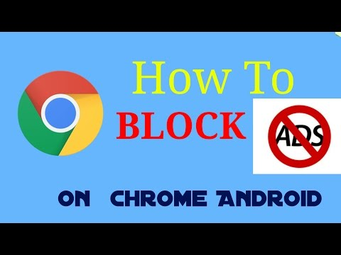 How to Block Ads on CHROME (android ) (NO ROOT)