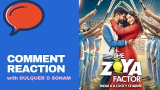 Dulquer Salmaan & Sonam Kapoor react on ZOYA FACTOR trailer comments | Mirchi Prerna