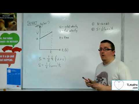 A-Level Maths 2017 Q3-01 [SUVAT: Deriving the Constant Acceleration Formulae]