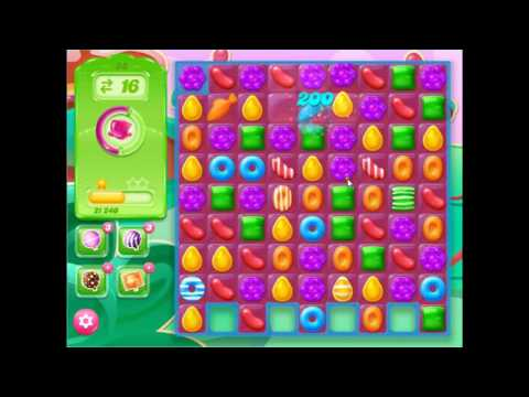 Candy Crush Jelly Saga Level 28 No Boosters 3 Stars