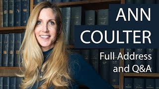 Ann Coulter | Full Address and Q&A | Oxford Union