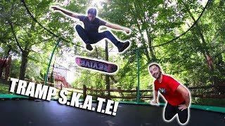 Crazy Trampoline S.k.a.t.e! | Sam Tabor Vs. Andy Schrock