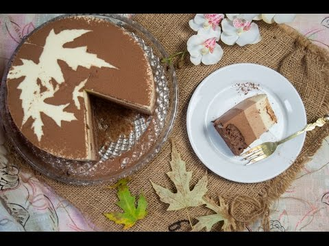The triple chocolate mousse cake recipe