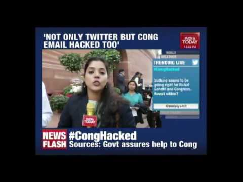 Congress Party's Email System Hacked Following The Twitter Handle