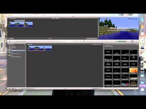 How to make a minecraft intro (mac) (imovie)