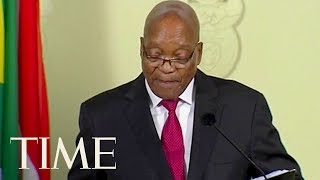 """South African President Jacob Zuma Resigns """"With Immediate Effect"""" 