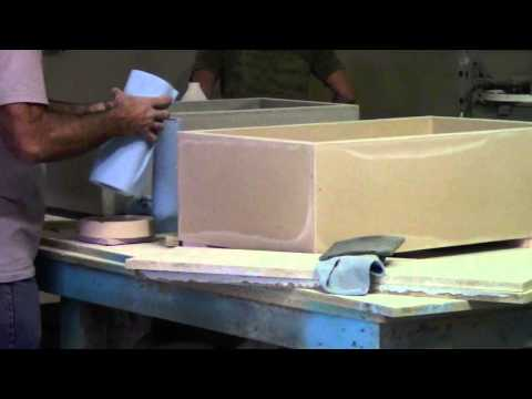 Making of Concrete Farm Sinks
