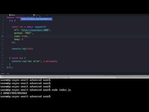 Javascript Async Await with Loops, Error Handling, Promise.All and Koa