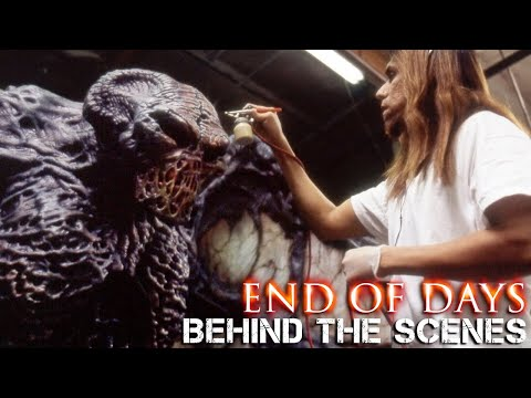END OF DAYS - Testing the Seven Foot Tall Satan Beast at Stan Winston Studio