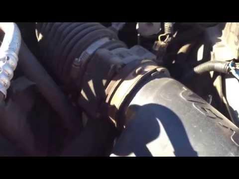 Chevy Blazer Vortec Mass Airflow Sensor Replacement