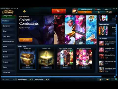 League of Legends Mystery Skin Extravaganza