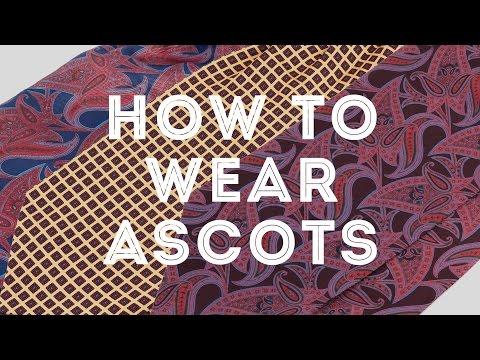 How To Wear An Ascot, Cravat & Plastron The Elegant Way - Gentleman's Gazette