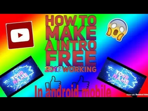 How to make 3d intro in Android mobile!!!!!!!! 100% working
