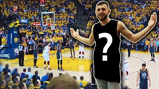 I REALLY WORE THIS TO THE NBA FINALS! *Sat next to Steph Curry's parents*