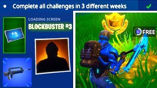 Blockbuster Challenge Week 3 Completed New Update Fortni