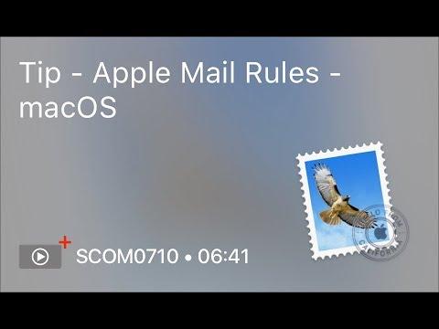 SCOM0710 - Tip - Apple Mail Rules - macOS