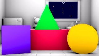 Shapes Song | Learning Videos for Children | Learn Shapes for Babies - Kids Tv Channel