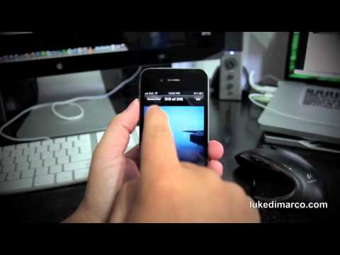 How to Send Multiple Photos with the iPhone