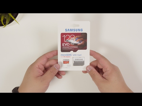 Samsung EVO+ 128GB MicroSD Card | What's In the Box?