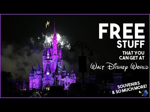 FREE Stuff at Walt Disney World!!! Souvenirs, Things To Do, and So Much More! All Free!!!