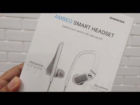 Sennheiser Ambeo Smart Headset - It's 3D Sound & Enhanced Audio