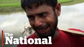 Rohingya Muslims fleeing Myanmar describe military