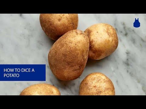 How To: Dice a Potato