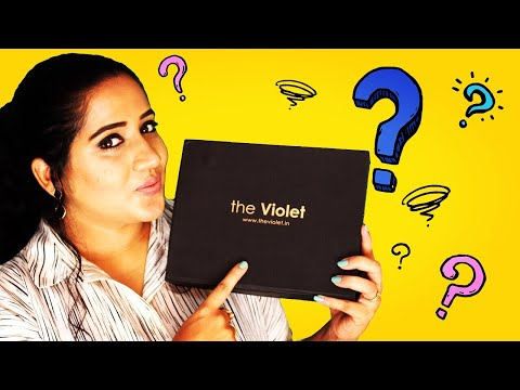 UNBOXING THE VIOLET BOX    PERIOD PAMPERING BOX   Happy Pink Studio