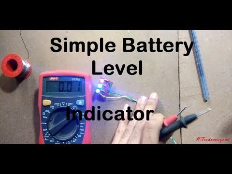 Simple battery level indiacator || DIY HOMEMADE INDICATOR || MIni project
