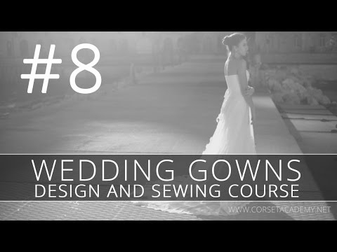 How to make a WEDDING DRESS? #8